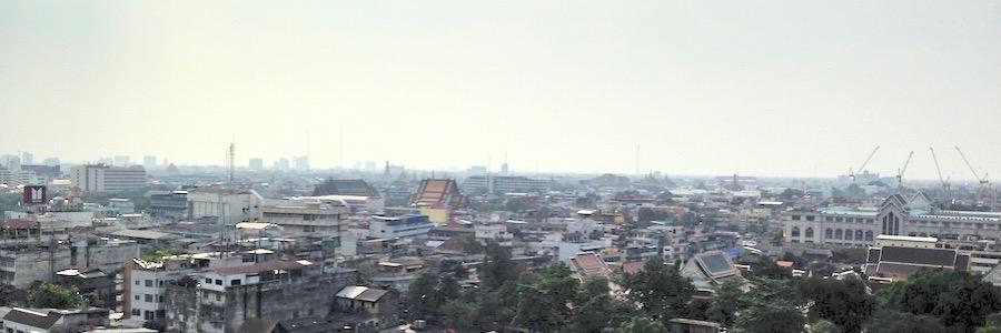 Altstadt Bangkok Wat Saket