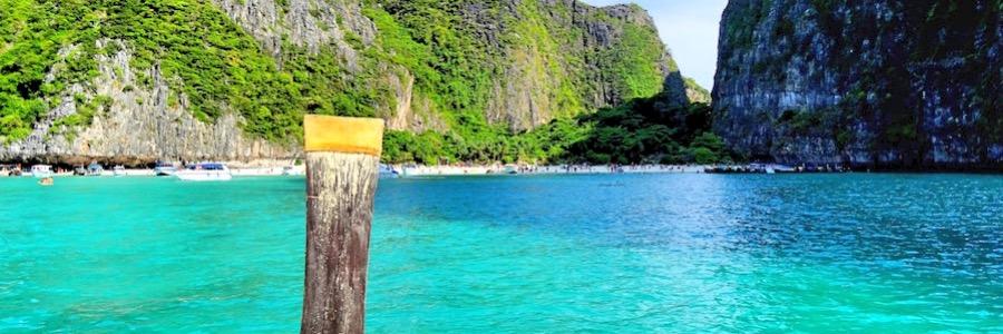 Anfahrt Maya Beach Koh Phi Phi