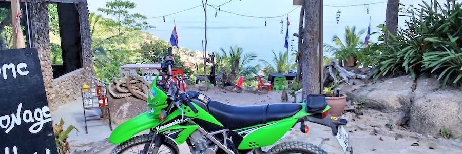 Aussichtspunkt Koh Tao Crossmaschine