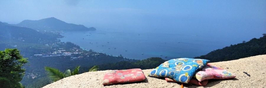 Aussichtspunkt Koh Tao Thailand Fortbewegung