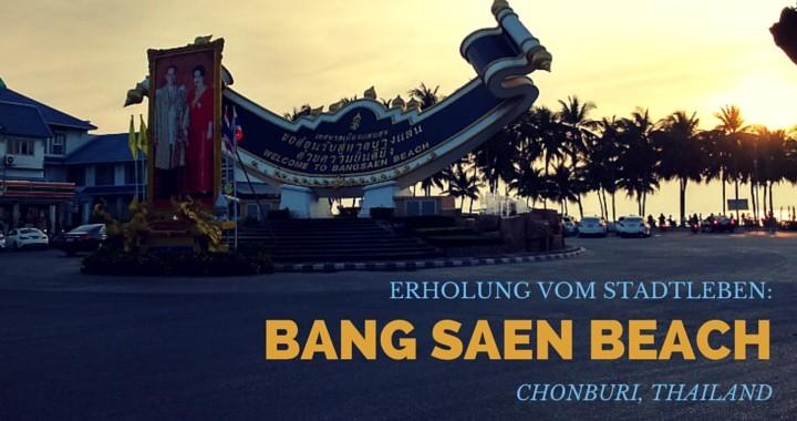 Bang Saen Beach Chonburi Thailand