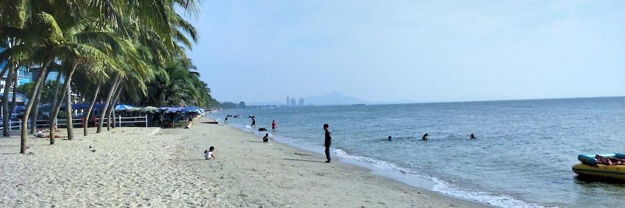 Bang Saen Beach Chonburi Thailand Strand