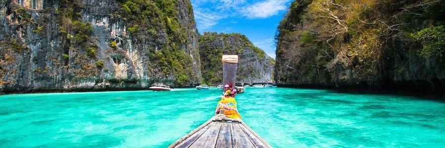 Einfahrt Koh Phi Phi Pileh Bucht