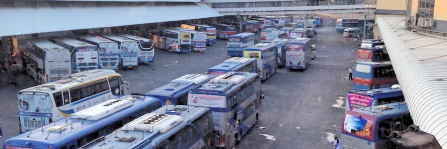 Mo Chit Busdepot Bangkok Thailand