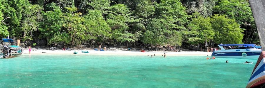 Monkey Beach Thailand Koh Phi Phi Anfahrt