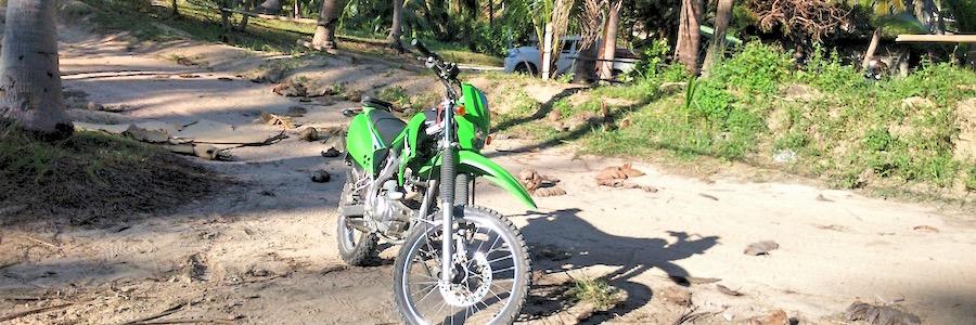 Motocross Koh Tao Thailand