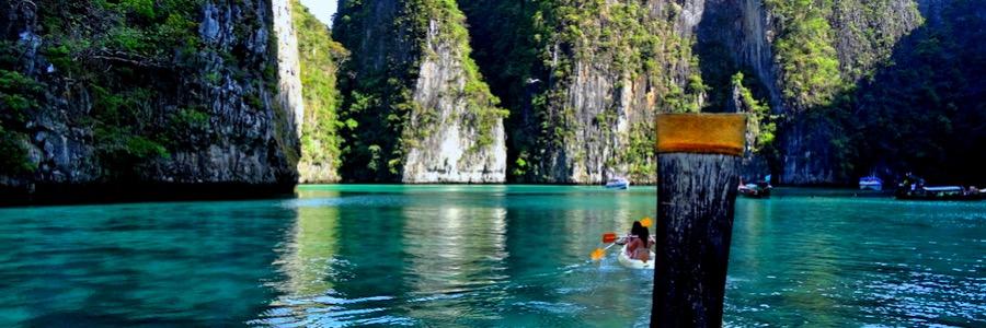 Pileh Bucht Lagune Thailand Koh Phi Phi