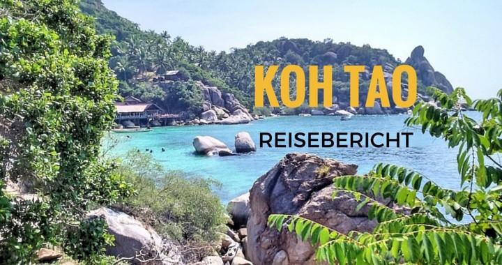 Reisebericht Koh Tao Thailand