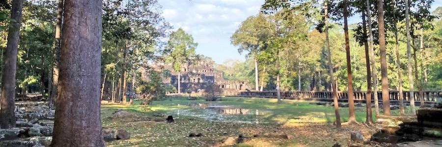 Tempelanlage Kambodscha Siem Reap