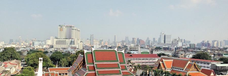 Wat Saket Skyline Bangkok