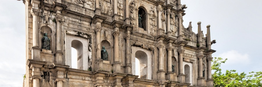 Catedral De San Pablo Macao