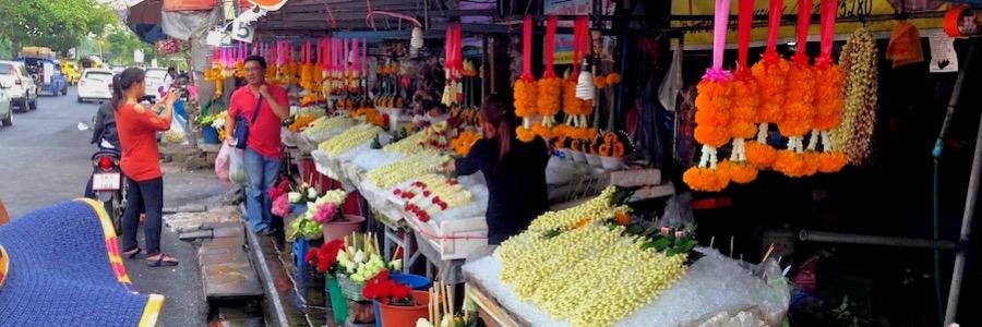 Flower Market Chiang Mai