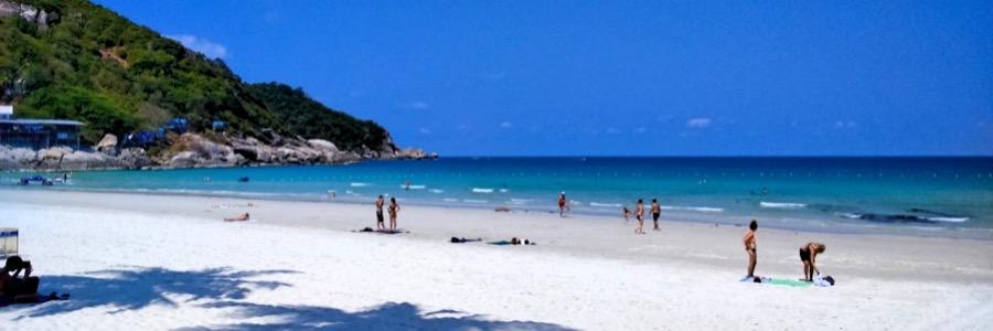 Haad Rin Full Moon Beach Koh Phangan