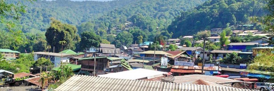 Hmong Doi Village Chiang Mai