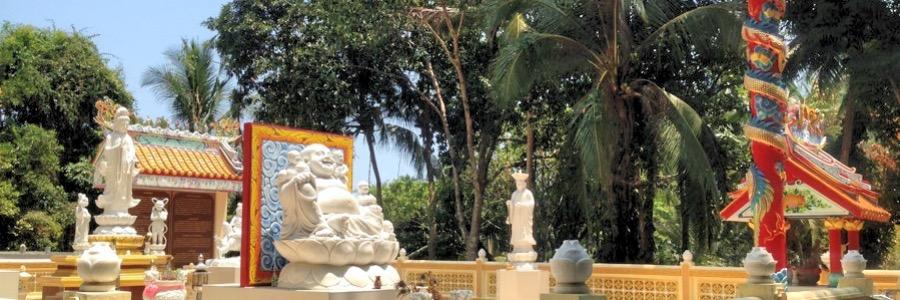 Koh Phangan Wat Pah Saeng Tham