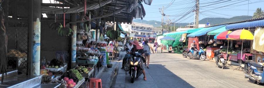 Morning Market Thong Sala Koh Phangan