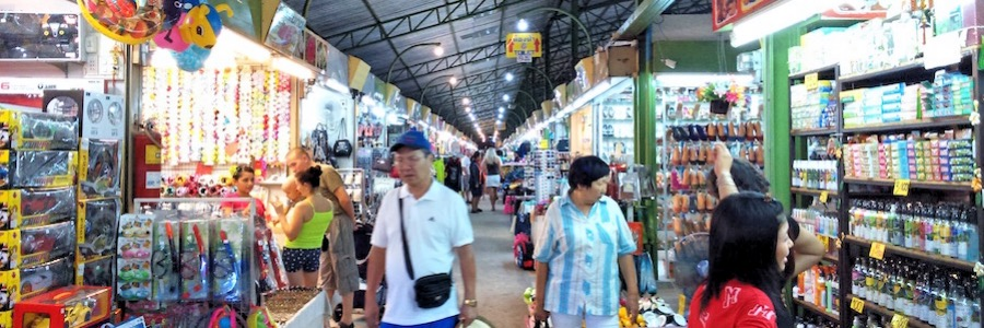 Night Bazaar Pattaya Second Road
