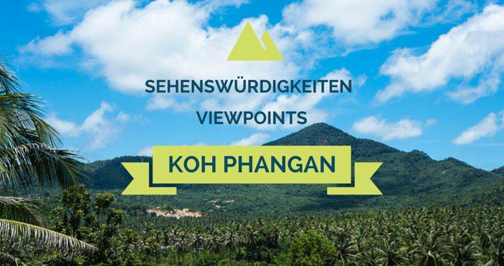 Sehenswürdigkeiten Koh Phangan Viewpoints