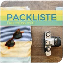Packliste Asien u. Thailand