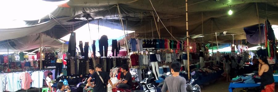 Soi Buakhao Market Pattaya Thailand