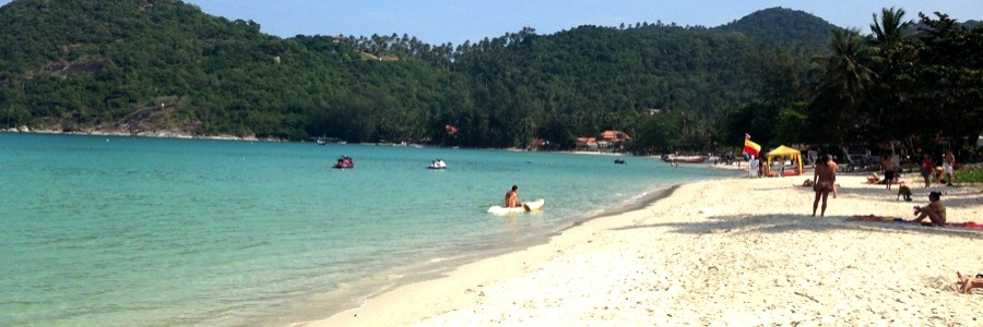 Strand Koh Phangan Thong Nai Pan Yai Beach