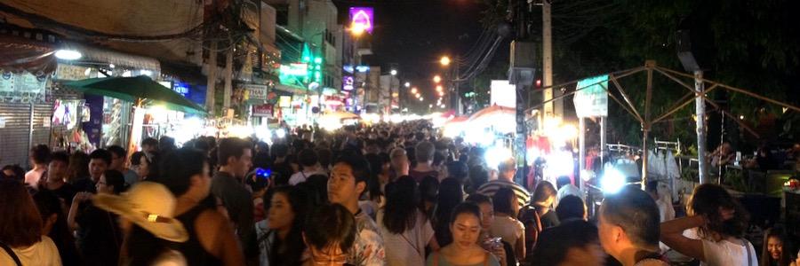 Sunday Night Market Chiang Mao