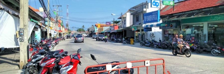 Thong Sala Koh Phangan Ortsmitte