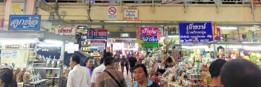 Ton Lam Yai Market Chiang Mai Thailand
