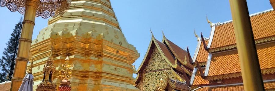 Wat Doi Suthep Sehenswürdigkeiten Chiang Mai