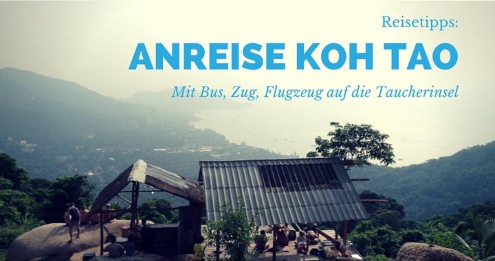 Anreise Koh Tao
