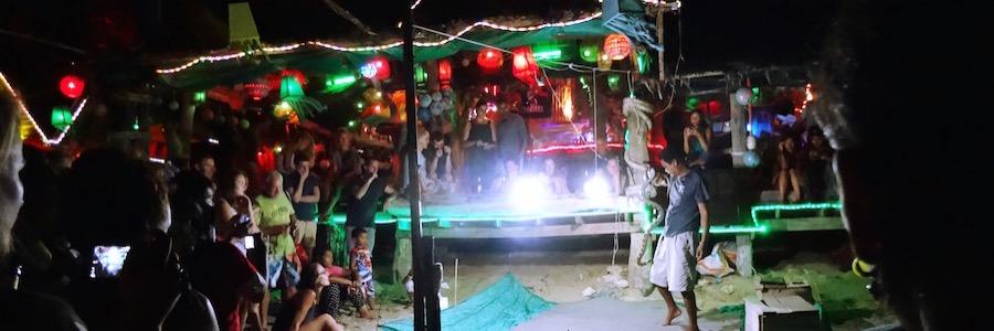 Snake Show Koh Lanta Bar Party