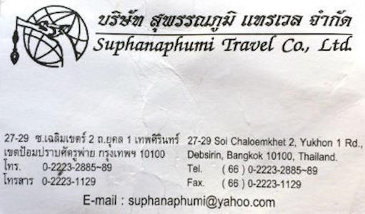 Abzocker Reisebüro Bangkok