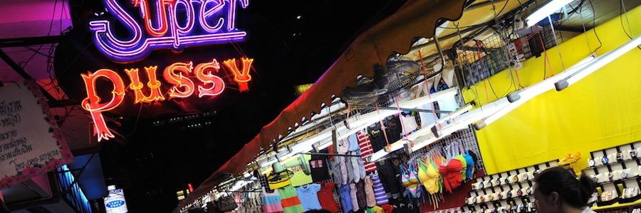 Patpong Markt Bangkok Super Pussy