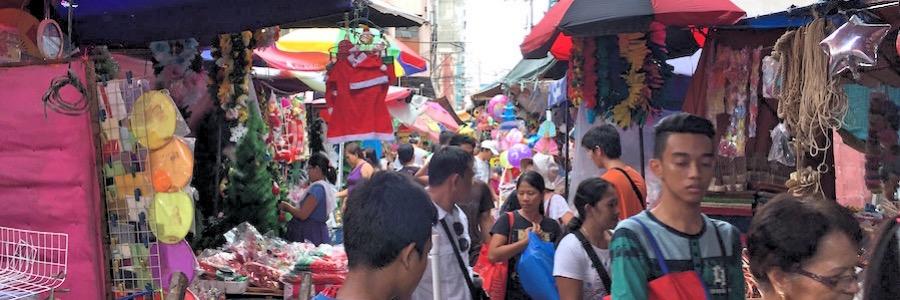 Divisoria Market Manila Gassen