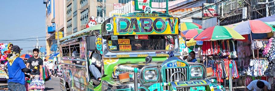 Jeepney Manila Philippinen