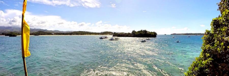 Magic Island Cliff Diving Boracay