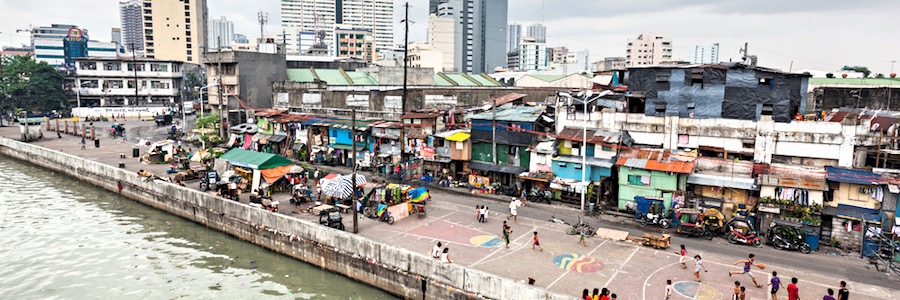 Manila Slum Downtown