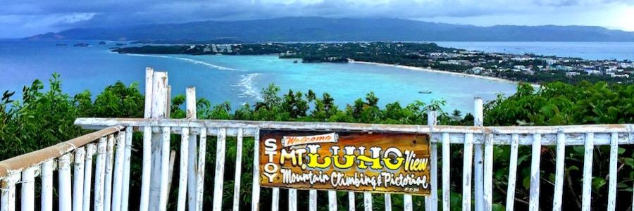 Mount Luho Aussichtspunkt Boracay