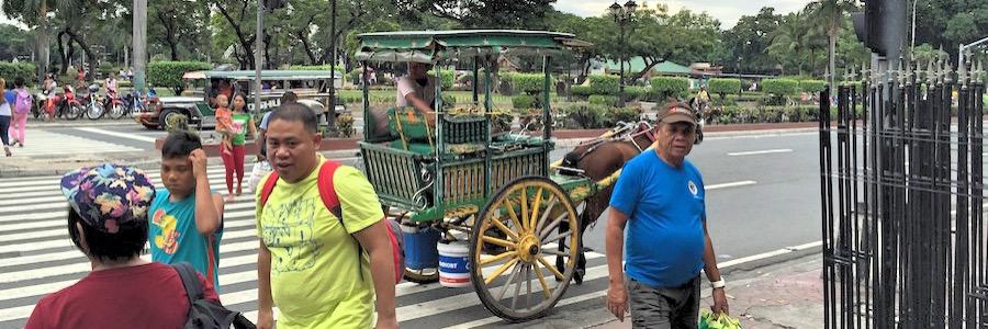Pferdekutsche Manila