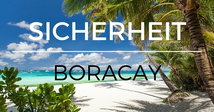 Sicherheit Boracay
