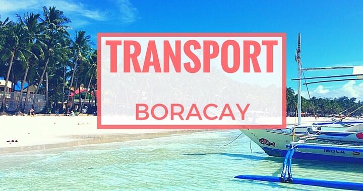 Transport auf Boracay