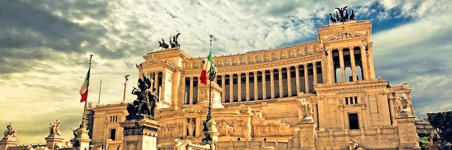 Backpacking Europa Rom