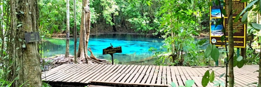 Blue Pool Krabi