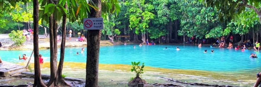 Emerald Pool Krabi Thailand Lagune