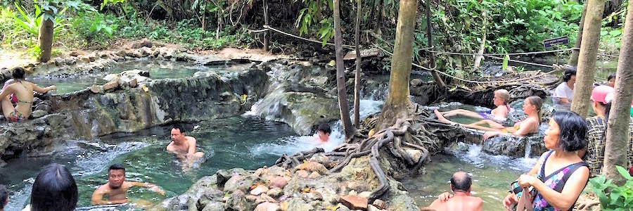Hot Stream Krabi Thailand