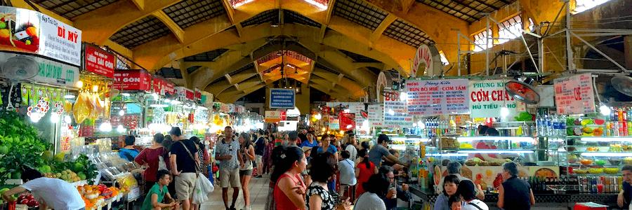 Ben Thanh Market Ho Chi Minh