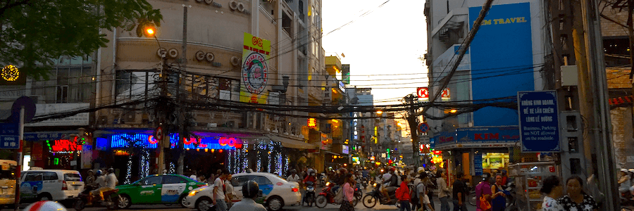 Bui Vienh Street Saigon