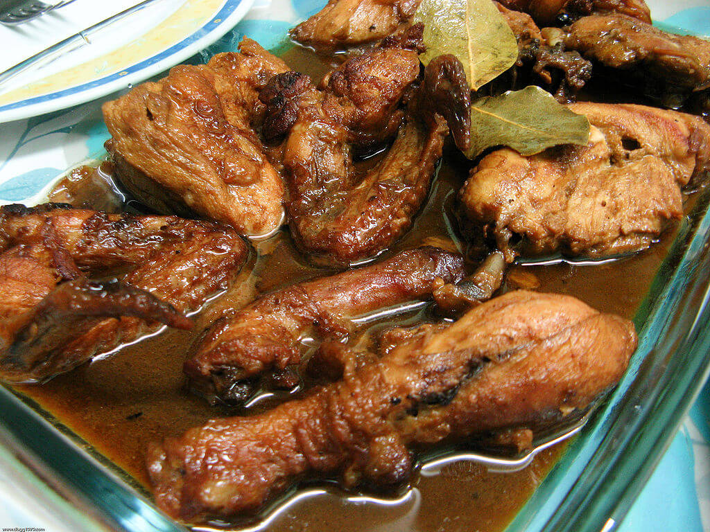 Chicken-Adobo-Philippinen