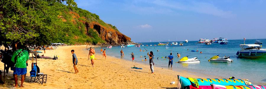 Nual Beach Monkey Beach Koh Larn
