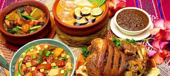 Philippinische-Küche-Gerichte